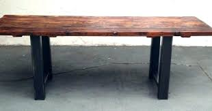 Diy Reclaimed Wood Desk Desk Reclaimed Wood Reclaimed Wood Grant Bar Table Uplift Standing