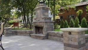 Hampton Bay Outdoor Fireplace - outdoor patio ideas as patio ideas for epic fireplace and patio