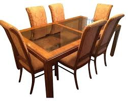 Drexel Heritage China Cabinet Drexel Heritage Consensus Dining Set Set Of 7 Modern Dining