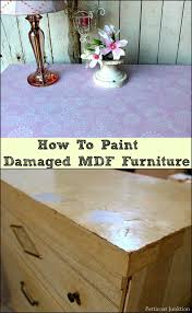 Can You Paint Mdf Kitchen Cabinets How To Paint Mdf Furniture With Damaged Surfaces