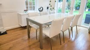 awesome modern extendable dining table and chairs on dining room