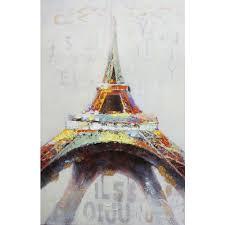 Eiffel Tower Home Decor Y Decor 55 In X 36 In