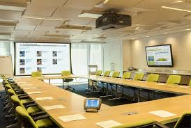 Modern Conference Room Design by Office Meeting Room Design Inspiration With Black Swivel Chairs