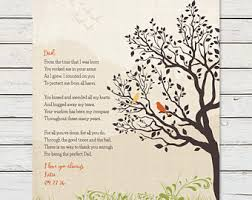 father daughter poem etsy