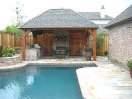 Backyard Cabana Ideas Backyard Pool House Ideas Small Swimming Pool Design Backyard Pool