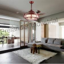 Retractable Ceiling Light by Chinese Art Ceiling Fan Hidden Blades Ceiling Fan Retractable