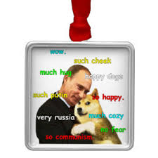 Doge Meme Christmas - doge meme christmas tree decorations ornaments zazzle co uk