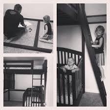 loft bed with crib on bottom baby crib design inspiration