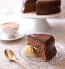 cuisine p駻uvienne sacher torte gâteau chocolat abricot de vienne diy photo pas à