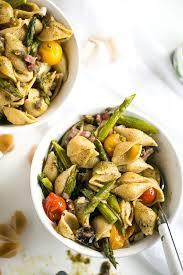 pasta salad pesto whole wheat pasta salad with pesto asparagus and roasted tomatoes