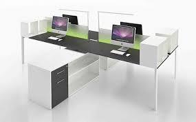 bureau vitre artdesign bureau yo avec écran de séparation en verre avec