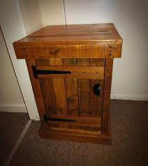 pallet nightstand end table pallet furniture plans