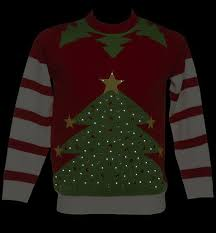 christmas tree jumper with lights cheesy christmas jumpers new trend for the 2012 festive season