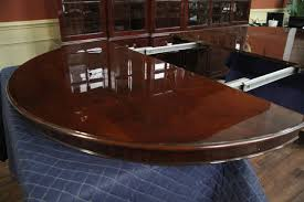 round dining room table for 10 round to oval round mahogany dining table with leaves