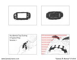 Rage Meme Comics - games memes comics rage issues with the vita s back touch panel
