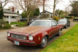 old parked cars 1973 chevrolet laguna