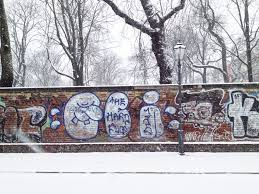 i survived the berlin winter the department of wandering snowy street
