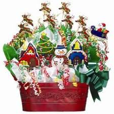cookie arrangements christmas cookie bouquet by doubleodanish on cakecentral