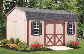 The Barn Yard Sheds The Barn Door Amish Sheds New Jersey