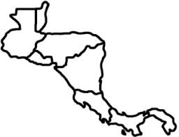 map of america with country names learn central america countries map memorize remember and