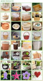 factory supplies willow wicker coffin wicker casket for funeral