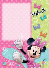 cute minnie mouse invitation template you u0027re invited to join 5th