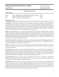 sample professor resume academic cover letter sample sample