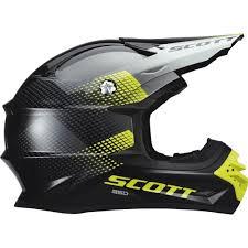 scott motocross helmets scott 350 pro dirt black green offroad helmets outlet seller 2017