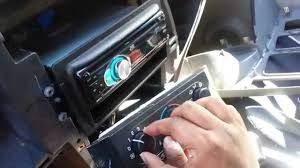 2002 2007 buick rendezvous checking heater controls youtube