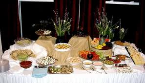 buffet table decoration ideas buffet table decoration ideas home design ideas and pictures