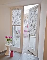 fabric blinds for french doors decorating blinds for french