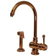 whitehaus kitchen faucet whitehaus collection copper home faucets ebay
