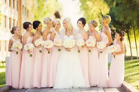 soft pink bridesmaid dresses pale pink bridesmaid dresses brqjc dress