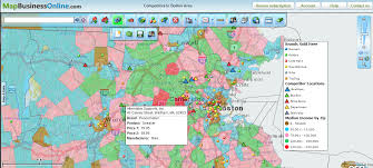 Portland Zip Codes Map by Map Business Online Blog Read About How Business Mapping Can