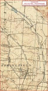 Mason Ohio Map by Glendale Oh Railfan Guide