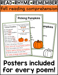Halloween Candy Poems Free Candy Corn Reading Activities A Teachable Teacher
