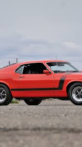 galaxy mustang ford mustang boss 302 red muscle car hd 4k wallpaper
