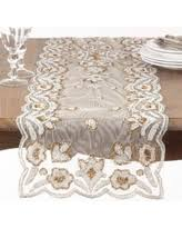 Beaded Table Linens - amazing deal saro hand beaded table linens table topper or table