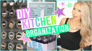 diy kitchen organization ideas youtube
