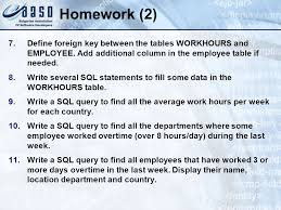 employee table sql queries introduction to sql 07 16 96 ppt download