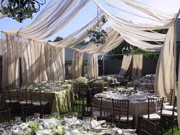 elegant wedding tent ideas adorable elegant backyard wedding ideas