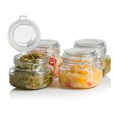 glass kitchen storage canisters klikel square glass kitchen storage canister jars