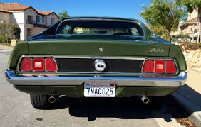 1972 ford mustang grande ford mustang coupe 1972 green for sale 2f04h166532 1972