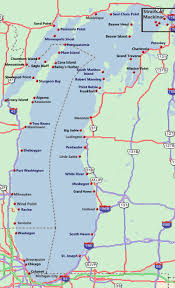 Michigan Map by Westieville