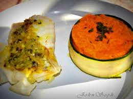 cuisiner dos de cabillaud dos de cabillaud et puree de carottes persillee par johnsoph une