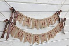 burlap thanksgiving banner tomorrow i do banner rustic burlap banner with by lazycaterpillar