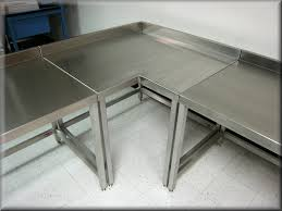 Industrial Table L L Shaped Tables At Rdm Industrial Products