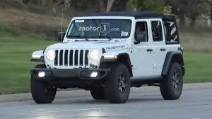 2018 jeep wrangler spy shots 2018 jeep wrangler spy shots youtube