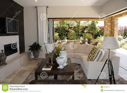 family room with outdoor livingroom stock image image 21028111
