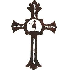 western crosses exelent metal crosses wall vignette wall and decor ideas